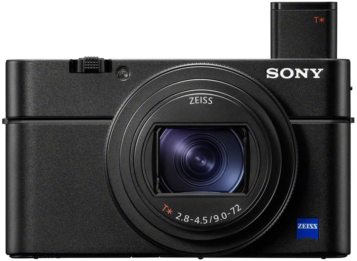 Sony RX100 VII point and shoot camera for youtube