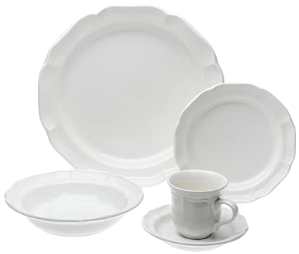 Mikasa French Countryside 45-Piece Dinnerware Set Service for 8  sc 1 st  Amazon.com & Amazon.com | Mikasa French Countryside 45-Piece Dinnerware Set ...
