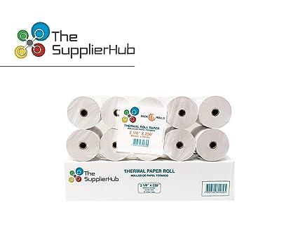 Thermal caja registradora rollos de papel para impresoras de ...