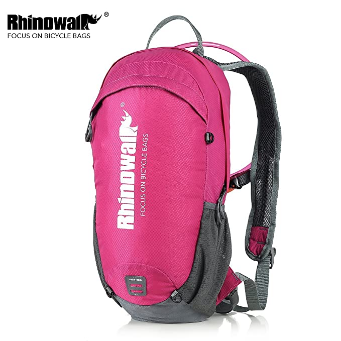 Amazon.com : Rhinowalk Cycling Backpack with Water Bladder Included Riding Bike Backpack Outdoor Water Proof Sports Daypack for Running Hiking Camping ...