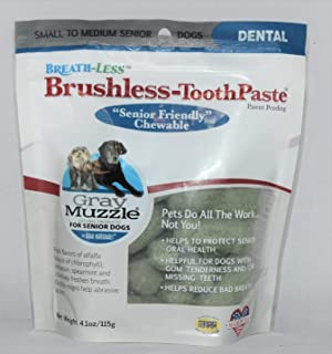 product image for ARK NATURALS Breath-Less Brushless Toothpaste, Vet Recommended Natural Dental Chews for Dogs, Plaque, Tartar and Bacteria Control