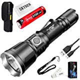 Klarus XT11X 3200 Lumens CREE XHP70.2 P2 LED 18650 Extreme Illumination Rechargeable Tactical Powerful Flashlight,with 1 x 18