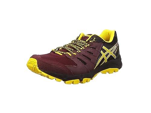 ASICS Gel-FujiAttack 4, Hombres de Trail Zapatillas de Running, Granate: Amazon.es: Deportes y aire libre