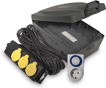 Ross WBXIP38TS - Caja de Enchufe (Resistente a Las inclemencias del Tiempo): Amazon.es: Bricolaje y herramientas