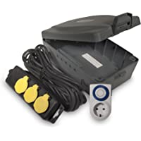 Ross wettergeschütze Safebox mit Kabeldurchführung WBXIP38TS, 3 Stück