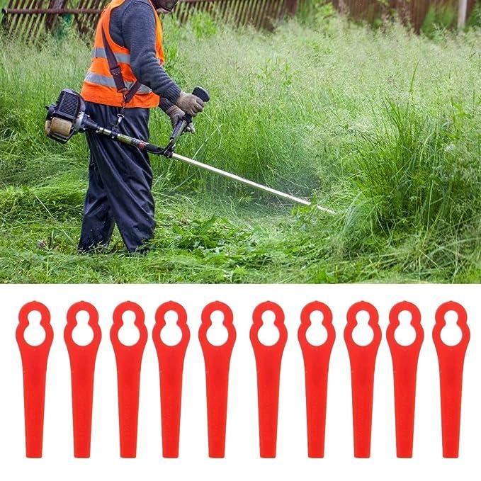 JENOR - 30 cuchillas de plástico para cortacésped: Amazon.es ...