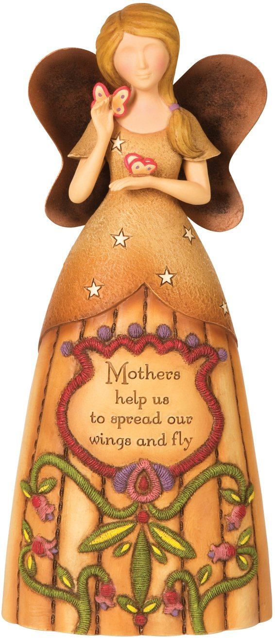Pavilion Gift Company Country Soul 29006 Angel Figurine, Mother, 9-Inch
