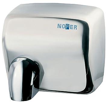 Nofer 01101.b Cyclon secador de Manos automático Capot Inoxidable Brillante Plata 30 x 26 x 24 cm: Amazon.es: Hogar