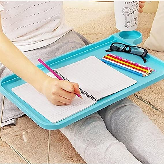 Amazon.com: Floralby Sofa Bed Tray Table with Folding Legs Laptop Breakfast Bed Tray for Eating Studying: Home & Kitchen