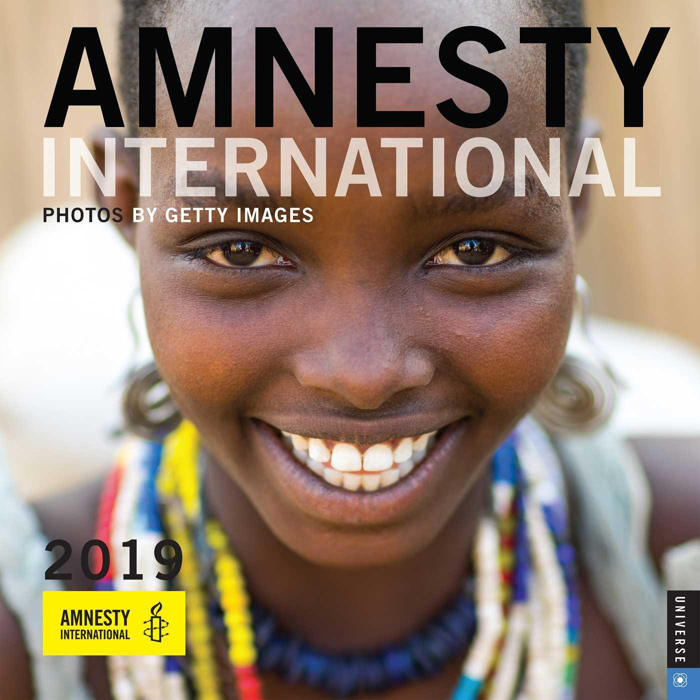 Amnesty International 2019 Wall Calendar: Amnesty ...