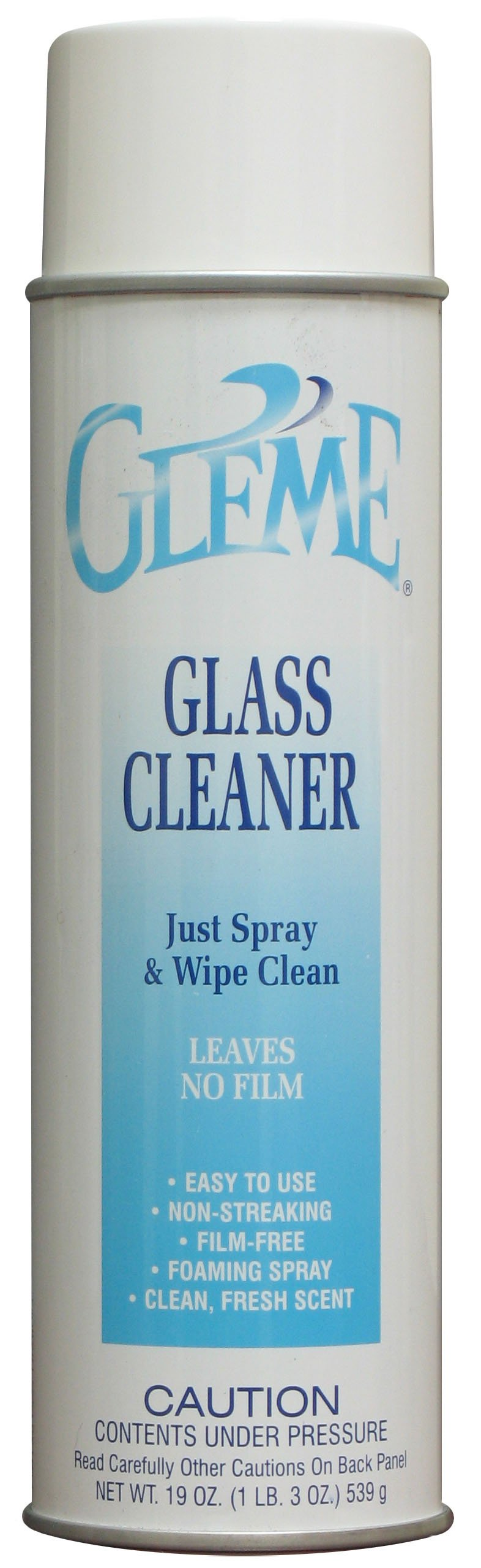 Claire C-050 19 Oz. Gleme Glass Cleaner Aerosol Can (Case of 12) by Claire (Image #1)