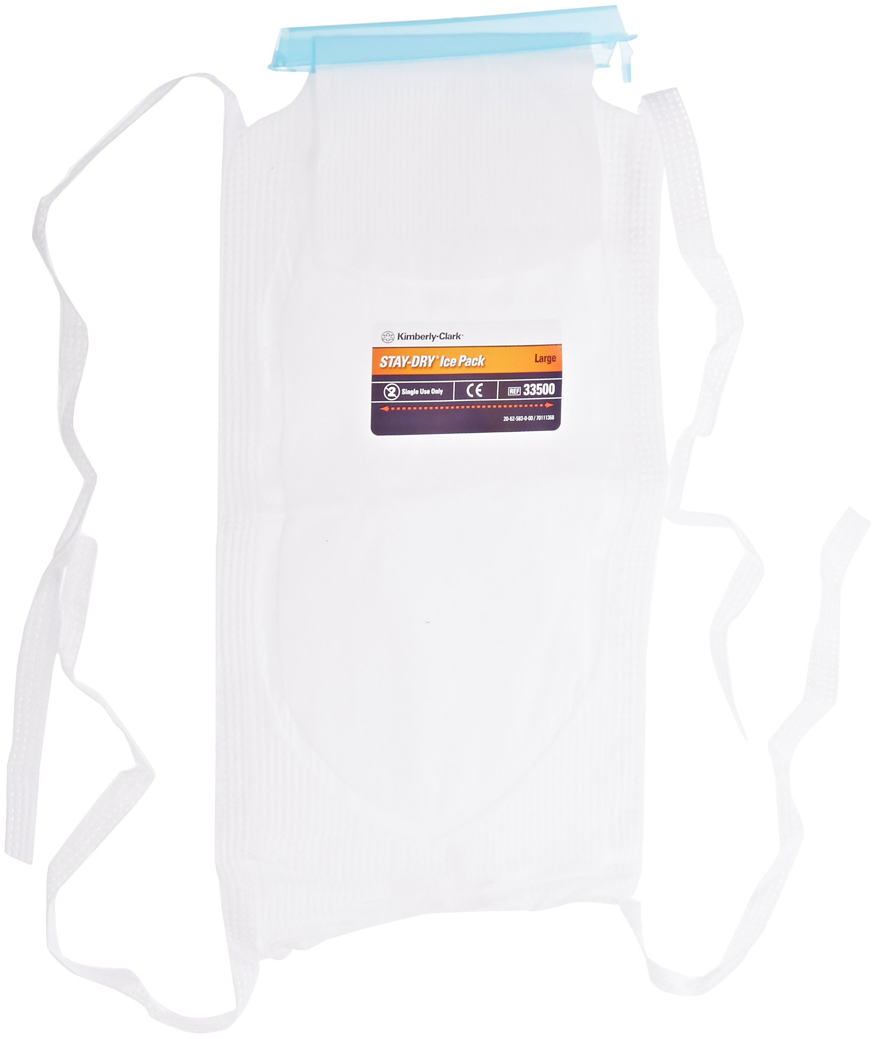 Halyard Health 33500 STAY-DRY Ice Pack, Large Size (Case of 50) by Halyard Health (Image #2)
