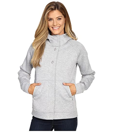 f0b7f3b4f THE NORTH FACE Thermal 3D Snap Hoodie Light Grey Heather: Amazon.ca ...