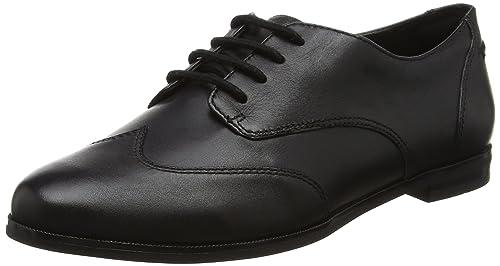 Andora Trick, Zapatos de Vestir para Mujer, Negro (Black Pat), 36 EU Clarks