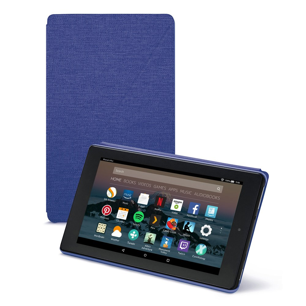 Fire 7 Tablet Case (7th Generation, 2017 Release), Marine Blue
