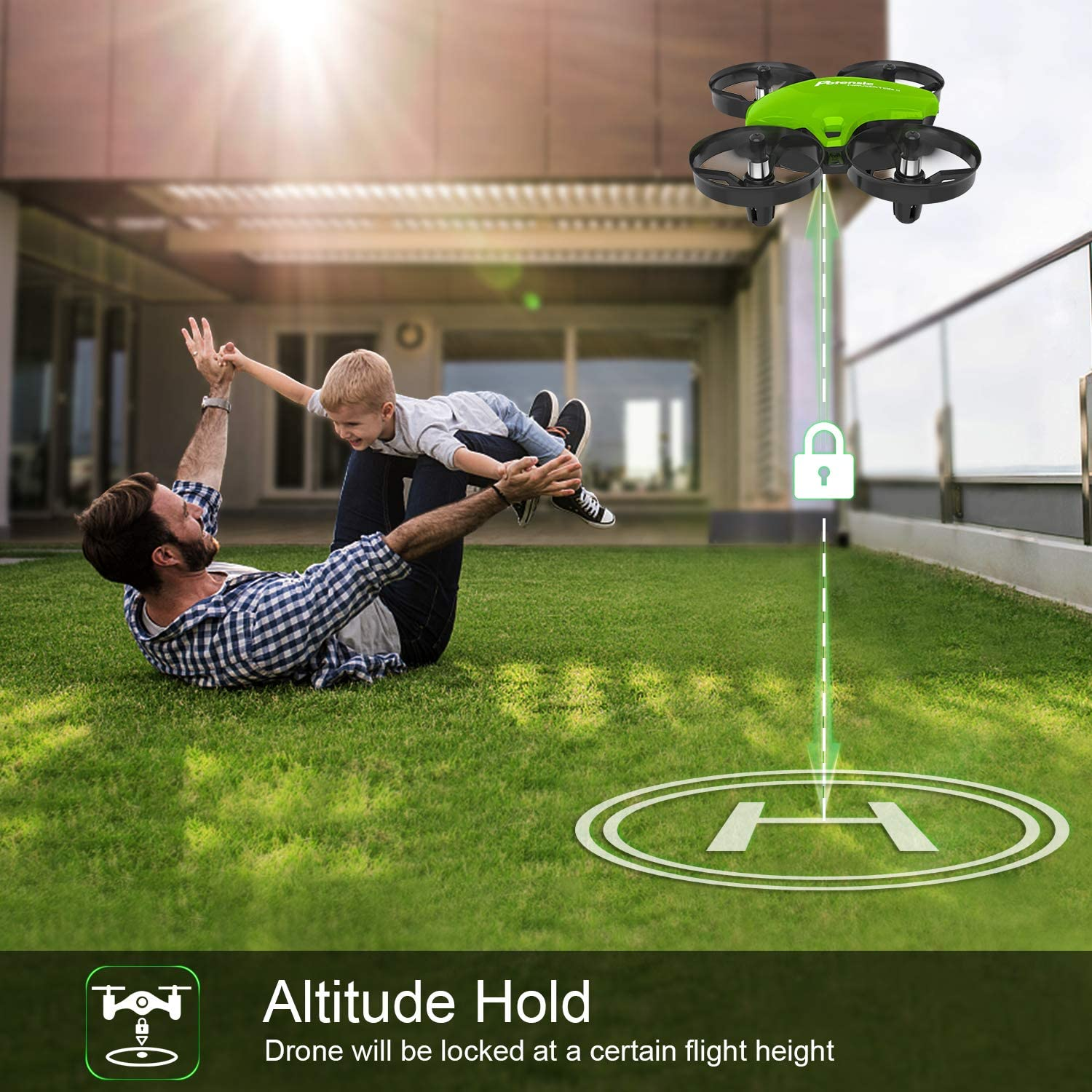 Potensic Mini Drone A20 is the best rc nano quadcopter for kids & beginners as per my review