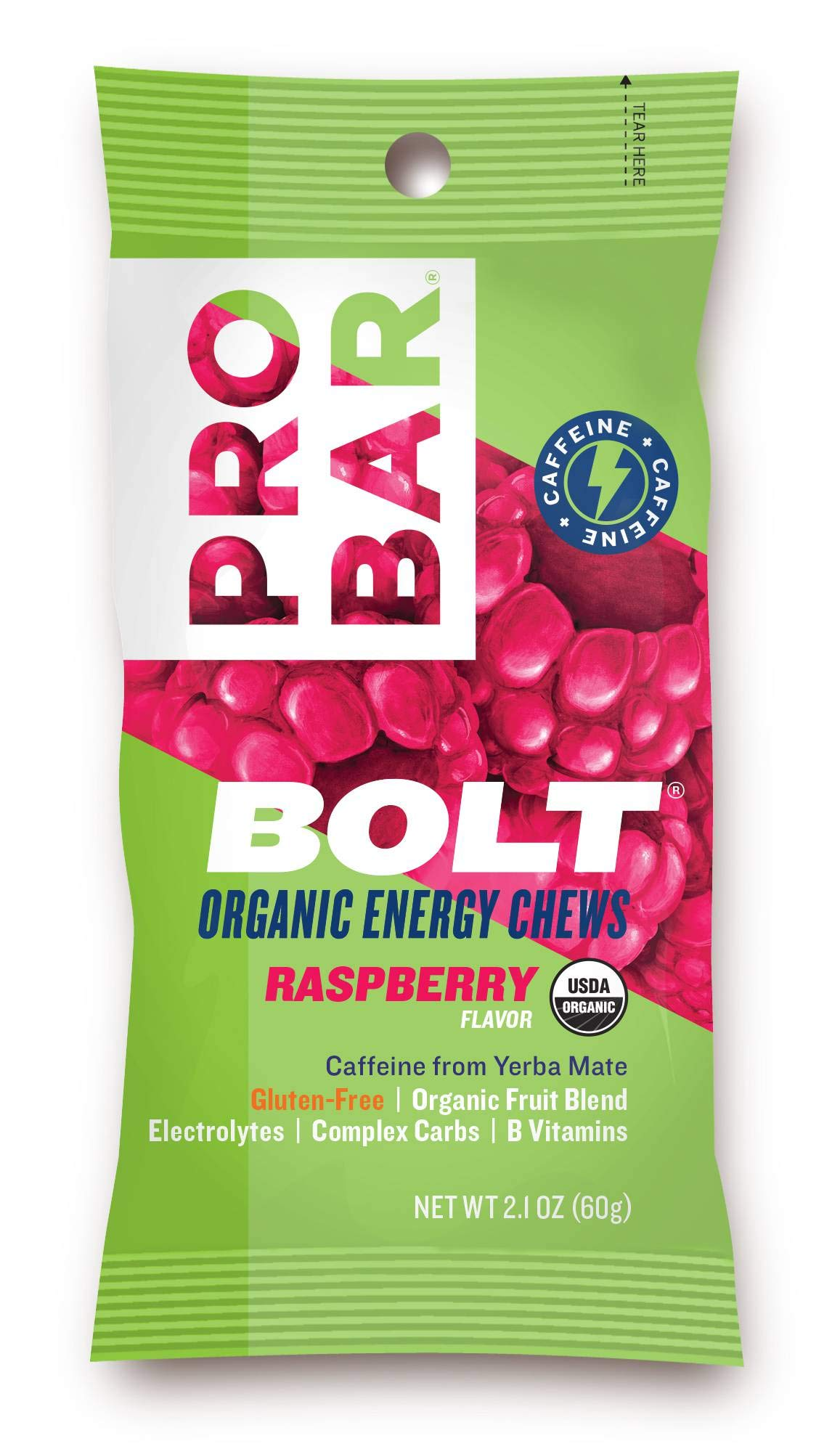 ProBar Raspberry Bolt Energy Chews, 2.1 oz., (144 per case) by ProBar Foods (Image #1)