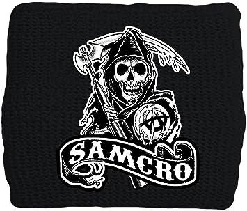 Sons of Anarchy SAMCRO Reaper Muñequera: Amazon.es: Juguetes y juegos