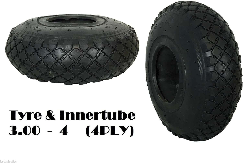 Inner tube 3.00-4 2.50-4 bent valve trolley mobility scooter sack wheelbarrow