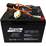 Upgrade With High Performance Replacement Batteries For 28% Longer Run Time For: Razor Ground Force Drifter, Razor Dune…
