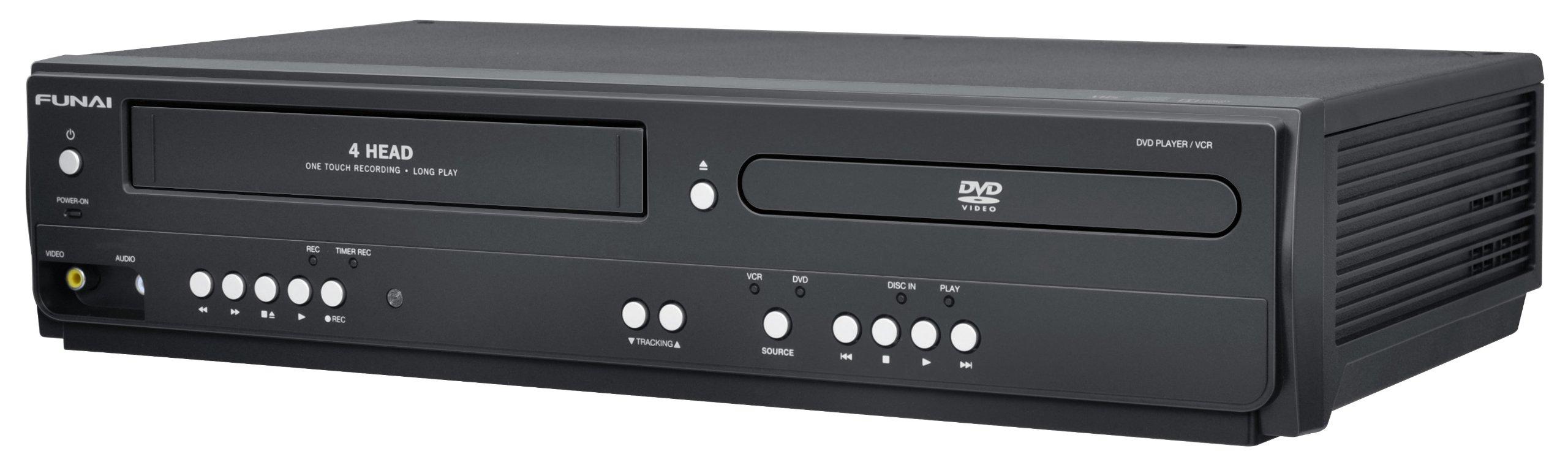 Funai Corp. DV220FX4 Combination Video and DVD Player (2014 Model) by Funai