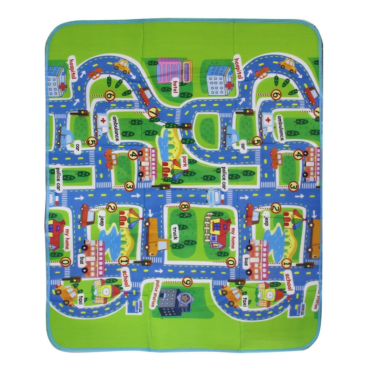 Multi-Color Flexible and Soft Hygienic and Safe for Kid Play Toy Creeping Mat Children in Developing Carpet Baby in Foam Rug Huldaqueen