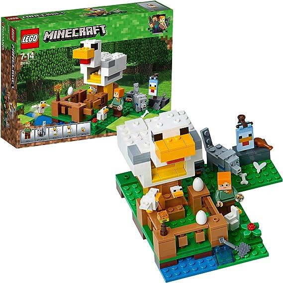 LEGO Minecraft - Gallinero, Juguete Educativo de Construcción del ...