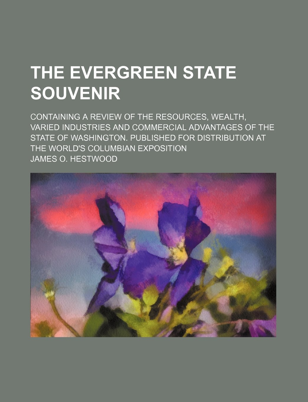 Download The Evergreen State souvenir; containing a review of the resources, wealth, varied industries and commercial advantages of the State of Washington. ... at the World's Columbian Exposition ebook