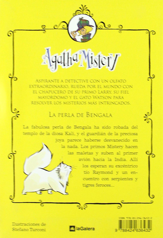 Agatha Mistery: La perla de Bengala # 2 (Spanish Edition): Sir Steve Stevenson, La Galera, Stefano Turconi: 9788424636432: Amazon.com: Books