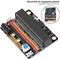 MakerHawk BBC Micro: Escudo de Adaptador de ruptura de la Placa de expansión de bits con IO de zumbador: bit V2.0 3.3V 5V 1A para el Proyecto de programación de Bricolaje