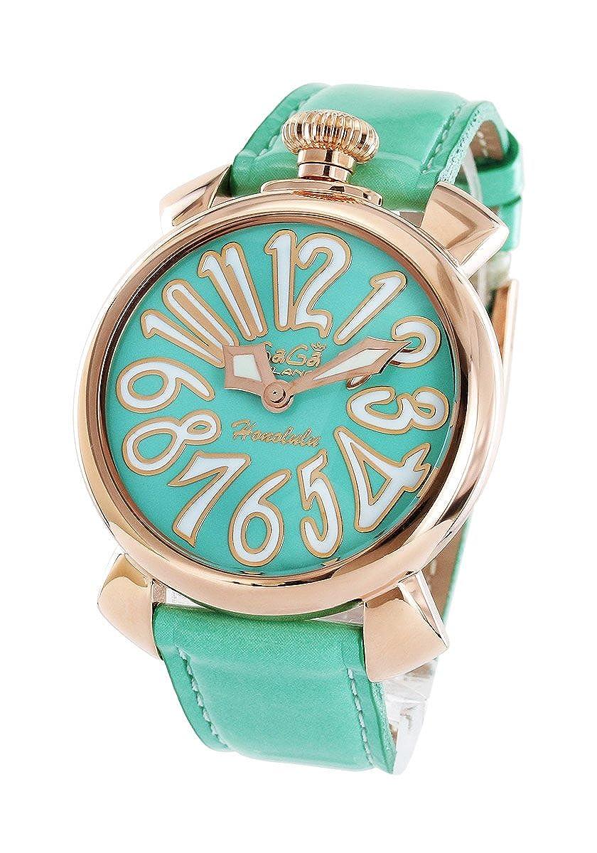 ガガミラノ マヌアーレ40MM ホノルル限定300本 腕時計 ユニセックス GaGa MILANO 5021.L.E.HO.2[並行輸入品] B0197XH5S0