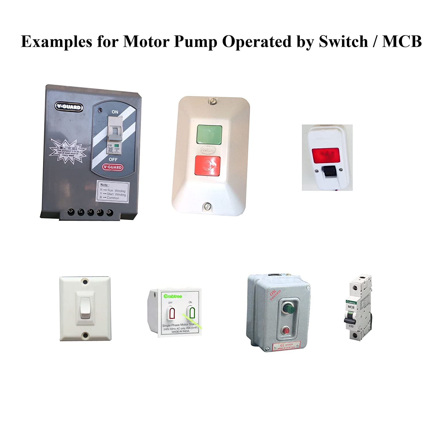 Buy Rmg Timer Controller For Motor Pump Operated By Switch Mcb Jual Relay Online At Low Prices In India