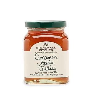 Stonewall Kitchen Jelly, Cinnamon Apple, 13 Ounce
