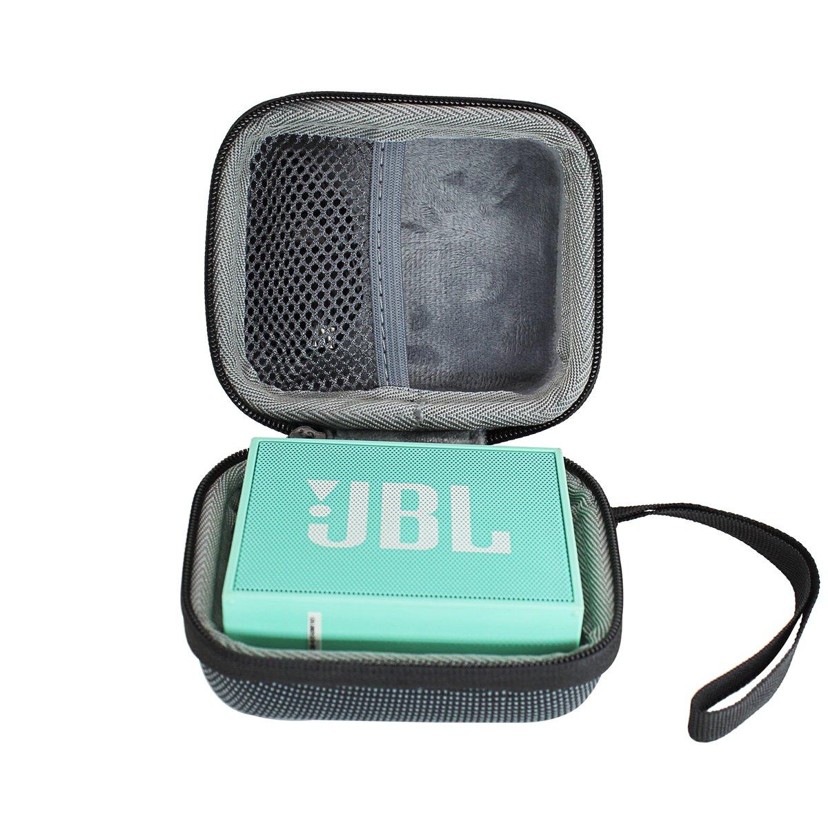 Hard Travel Case Bag for JBL Go Ultra Portable Rechargeable Bluetooth Speaker by VIVENS