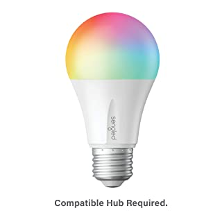 Sengled E11-N1EA Smart LED Multicolor Bulb, Hub Required, RGBW Color & Tunable White 2000-6500K, A19 60W Equivalent, Works with Alexa, Google Assistant & SmartThings, 1 Pack Color Plus (Renewed)