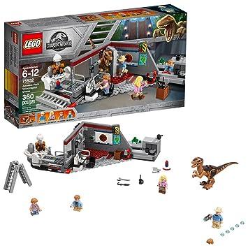 LEGO Jurassic World Caza del Velociraptor en Parque Jurásico (360 ...