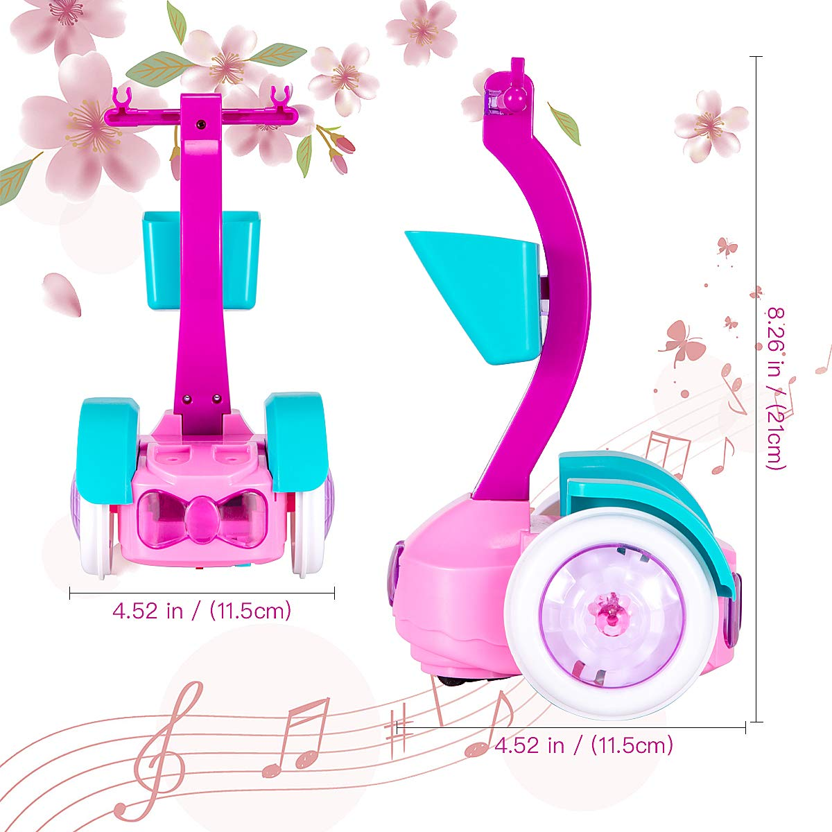 HiYuToy Doll and Glam Balance car