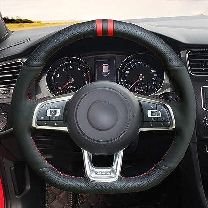 OUYUE - Funda de Piel para Volkswagen Golf 7 GTI Golf R MK7 VW ...