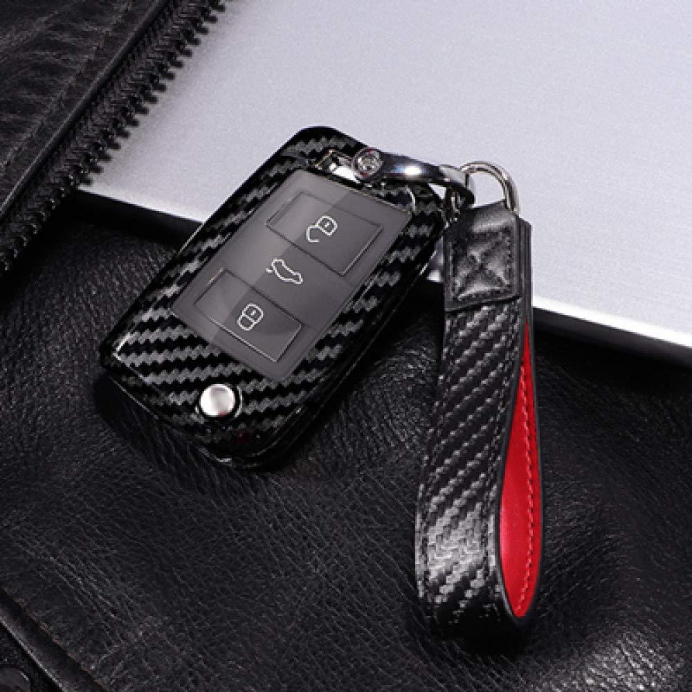 /Funda para llaves tuqiang/® SEAT LEON 5/F Negro /· SC /· St /· Key Cover silicona /· Llave Carcasa de Llave de Coche /· Llave Cover/