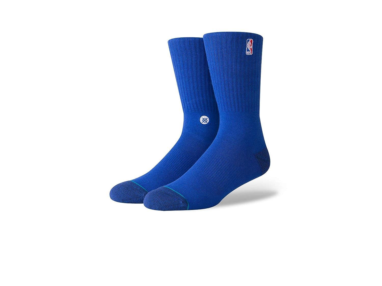 Stance NBA Logoman Crew II - Calcetines (Talla L), Color Azul ...