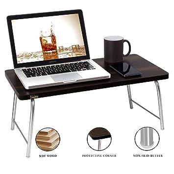 Wudore EBT-MW-T01 Portable Folding Laptop Table (Black)