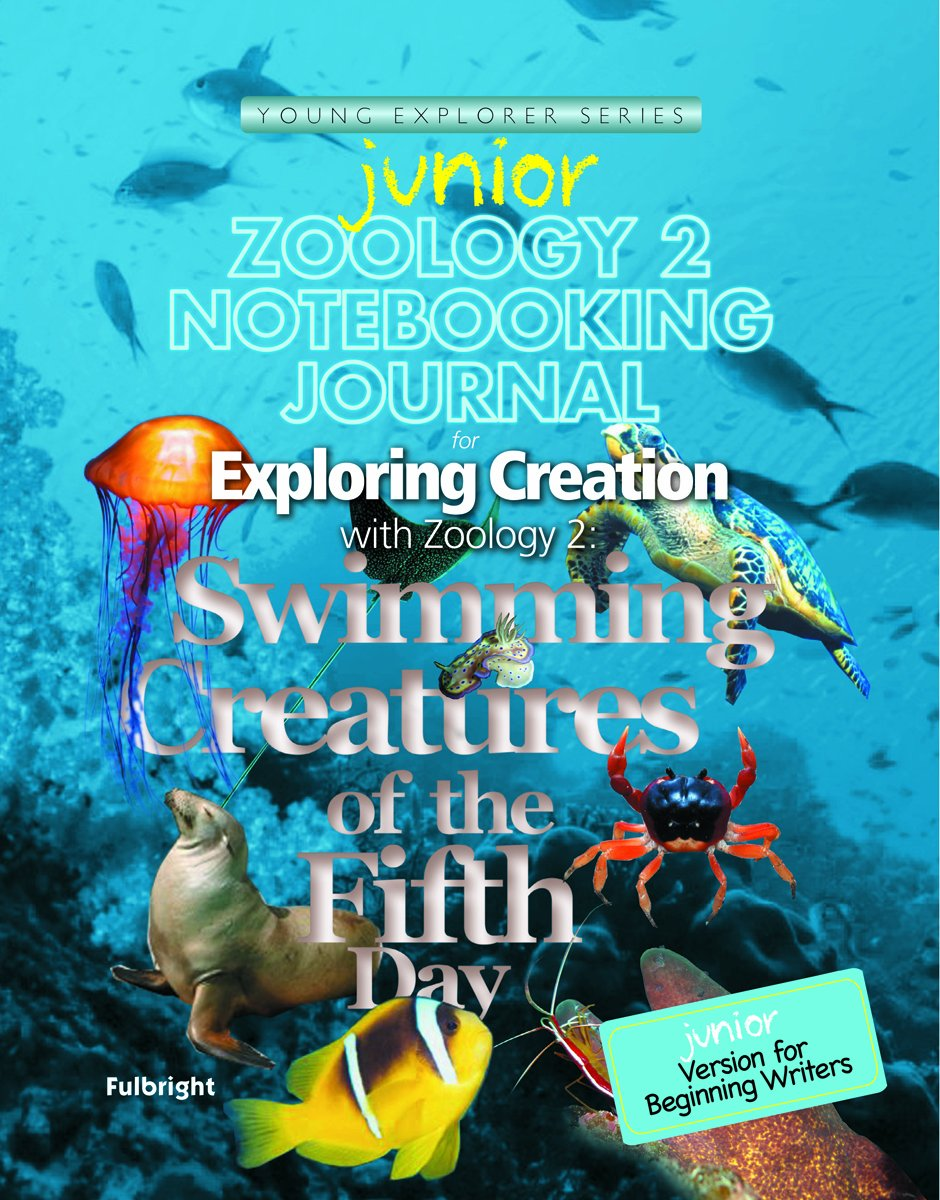 Zoology poster design - Zoology 2 Junior Notebooking Journal Swimming Creatures Of The Fifth Day Young Explorer Series Jeannie K Fulbright 9781935495611 Amazon Com Books