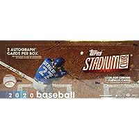 2020 Topps Stadium Club MLB Baseball HOBBY box (16 pks/bx)