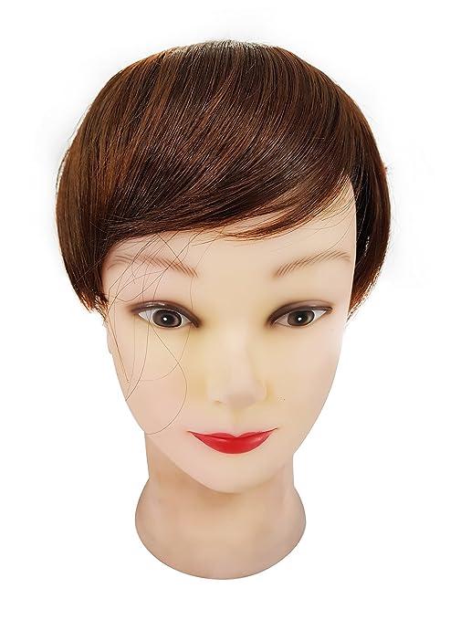Light Brown Hair Extension For Girls Front Hair Bands Fringe For