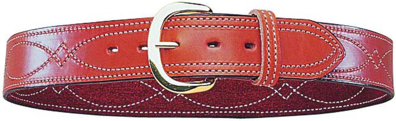 Cintur/ón cosido con hebilla de lat/ón Bianchi B9