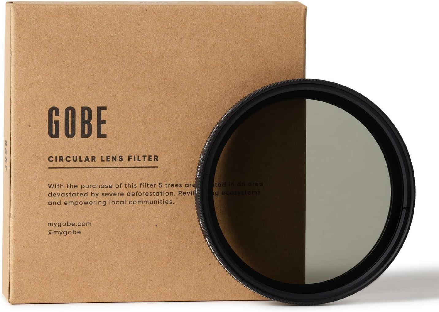 Gobe NDX 82mm Variable ND Lens Filter (1Peak)