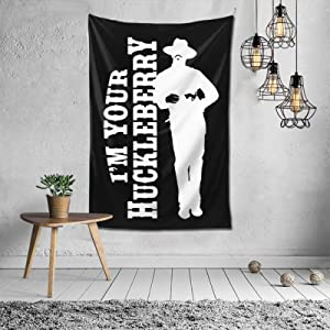 I'm Your Huckleberry Tapestry Wall Tapestry Colorful Wall Hanging Vintage Tapestries, for Living Room Decoration Bedroom Decor Home D?cor Wall Art (60''X 40inch'')