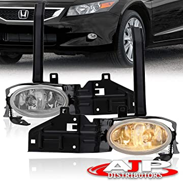 LH Front Bumpers Fog Lamp Light Lamps Cover For Honda Accord 2009-2010