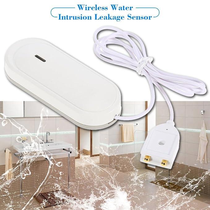 OWSOO 433MHz Sensor de Intrusión de Agua Inalámbrico para ...