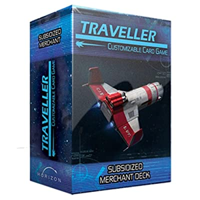 Traveller CCG Ship Deck Subsidized Merchant: Toys & Games